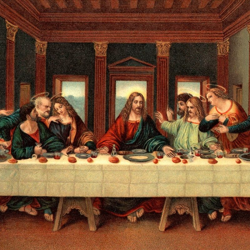 10 Best Jesus Last Supper Picture FULL HD 1920×1080 For PC Desktop 2021 free download the last supper in the bible a study guide 800x800