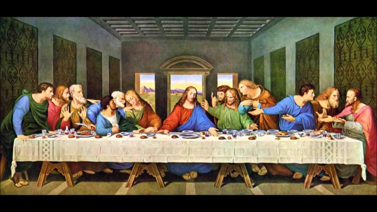 the last supper original paintingleonardo da vinci wallpaper