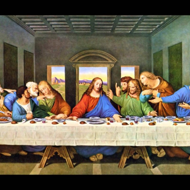 10 Best The Last Supper Wallpaper FULL HD 1080p For PC Background 2018 free download the last supper wallpapers wallpaper cave 1 800x800