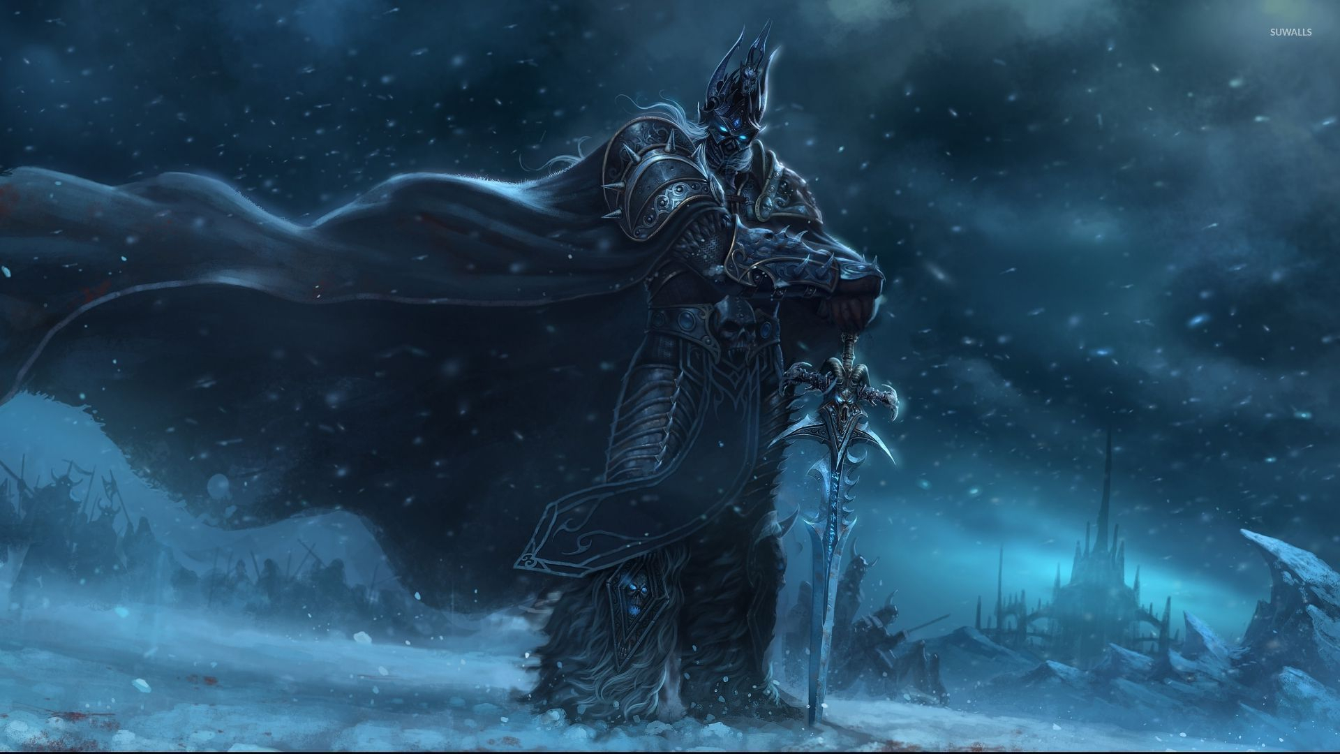the lich king wallpaper - game wallpapers - #31960