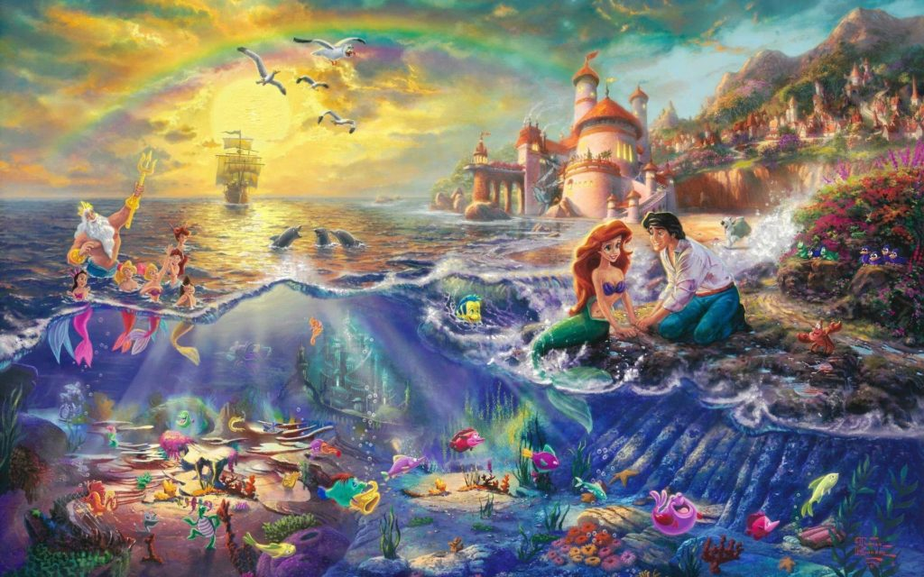10 Most Popular The Little Mermaid Wallpapers FULL HD 1080p For PC Background 2020 free download the little mermaid wallpapers wallpaper cave 1024x640