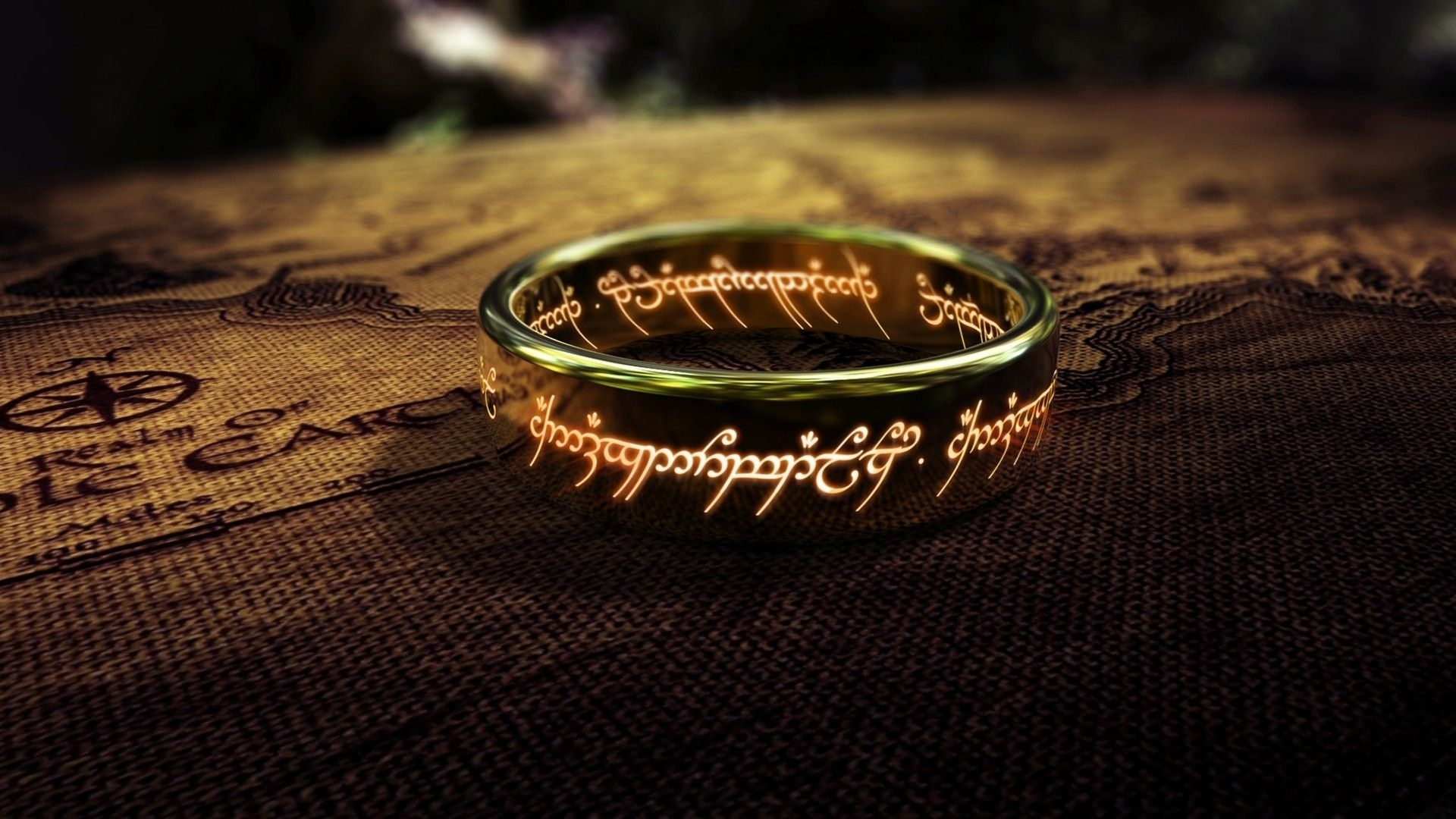 the lord of the rings engraving hd wallpaper » fullhdwpp - full hd