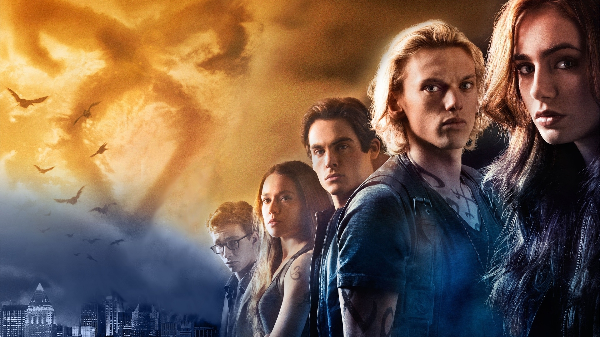 the mortal instruments: city of bones full hd fond d'écran and