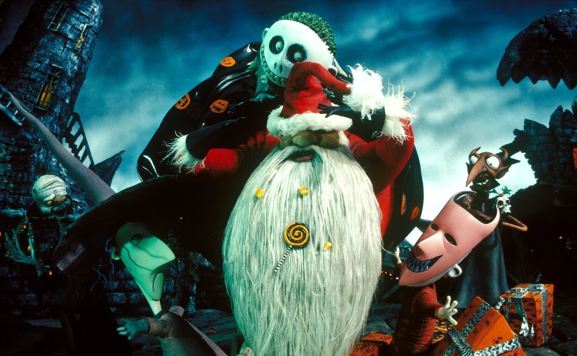 the nightmare before christmas wallpaper and background image