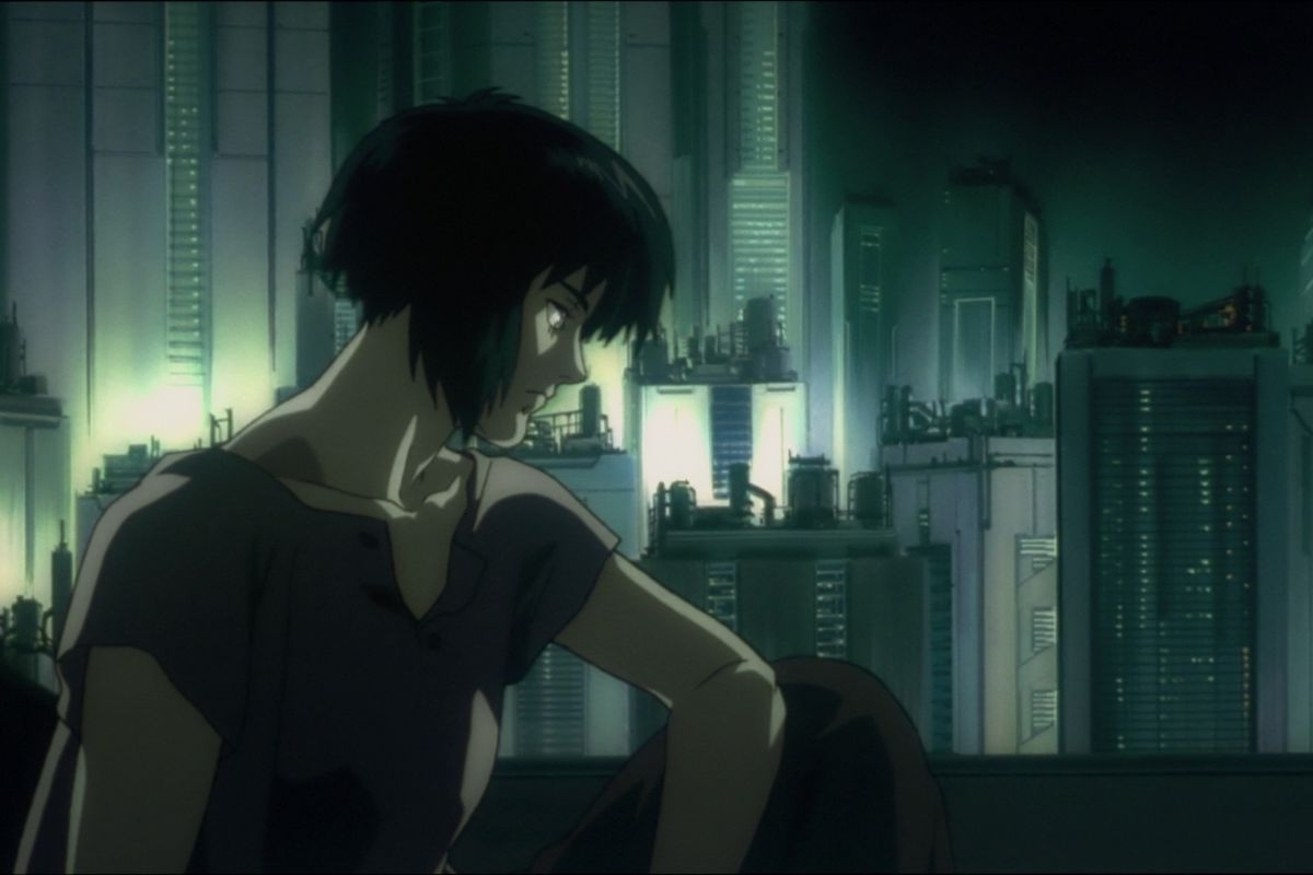 the original ghost in the shell is iconic anime, and a rich