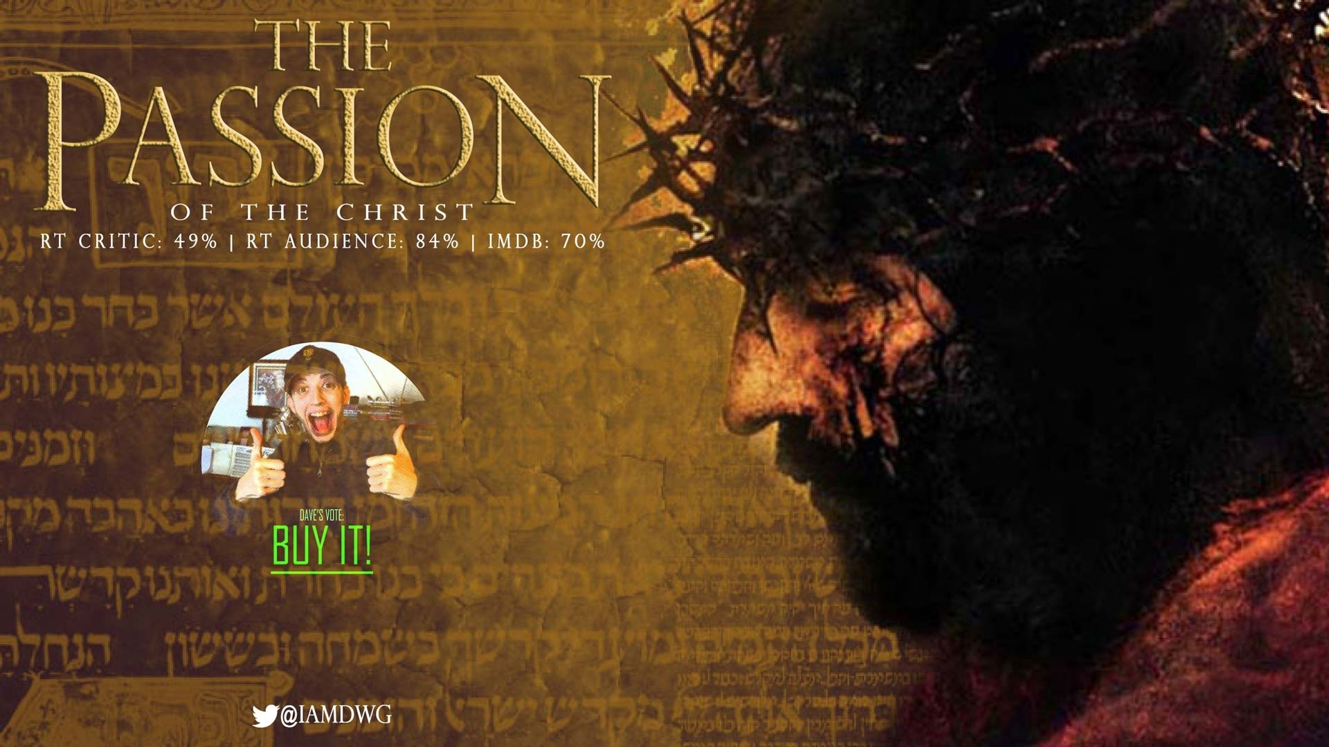 the passion of the christ (2004) – dave examines movies