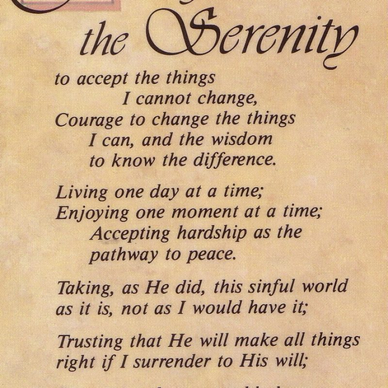 10 Latest Images Of The Serenity Prayer FULL HD 1080p For PC Desktop 2018 free download the serenity prayer think success 1 800x800
