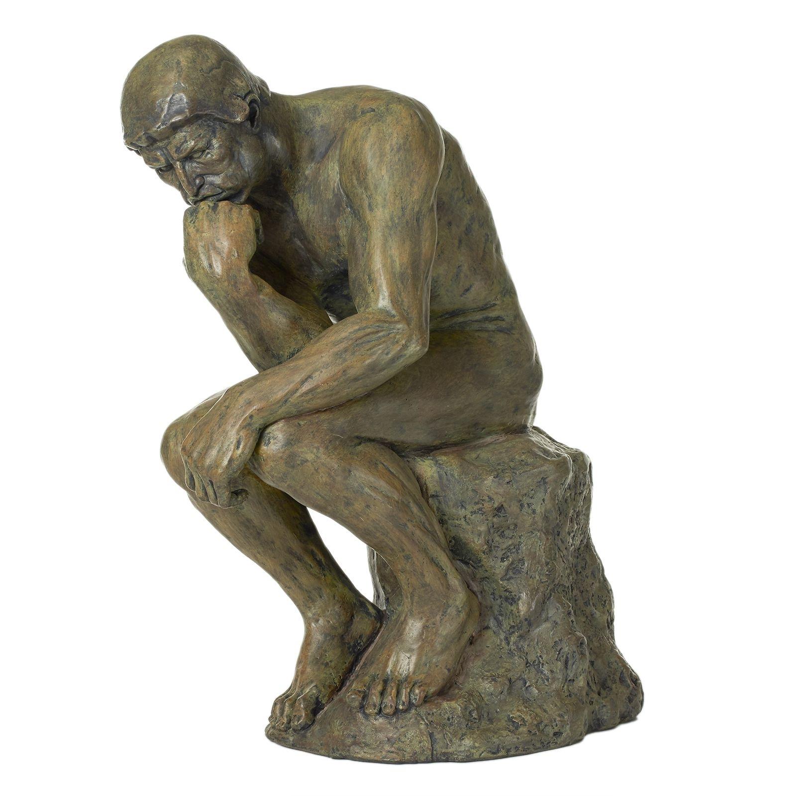 "the thinker 13"" reproduction | the philadelphia museum of art store"