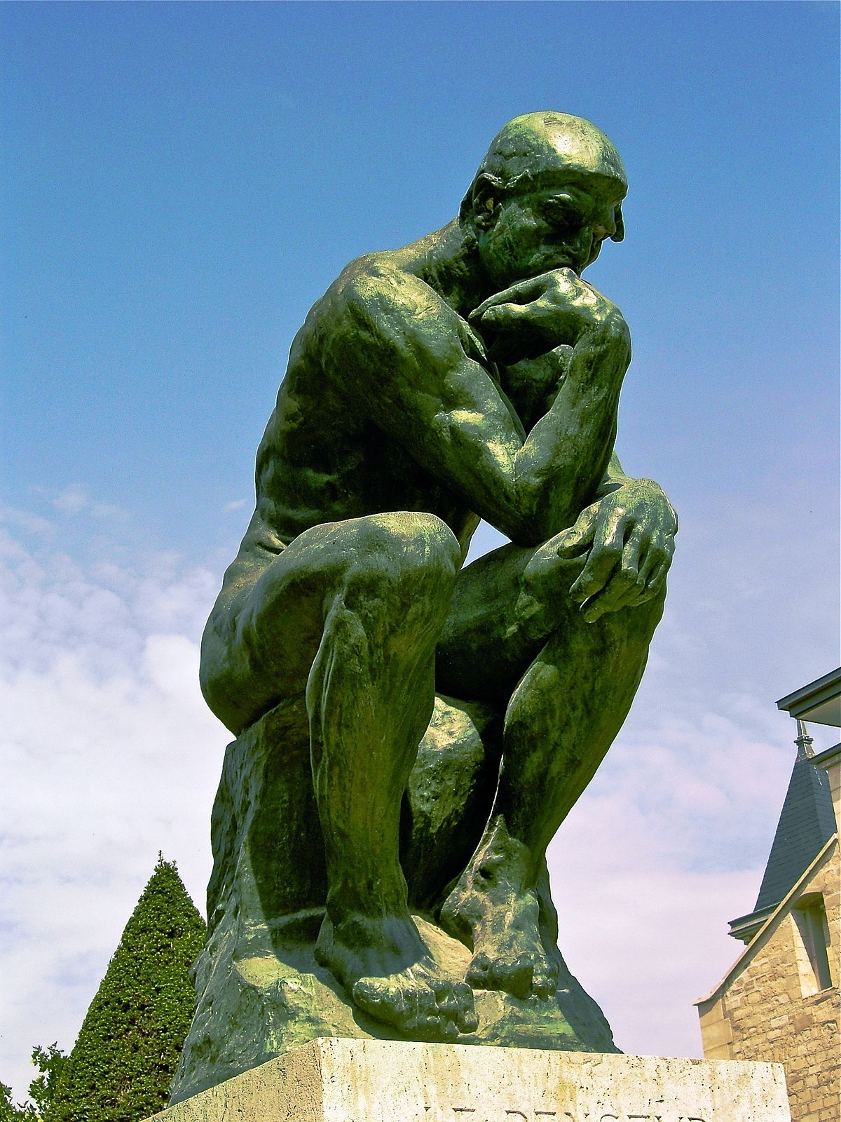 10 Latest Images Of The Thinker FULL HD 1080p For PC Desktop