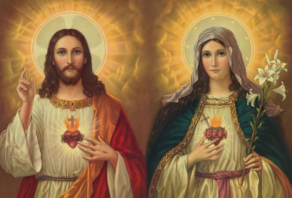10 Latest Mary And Jesus Images FULL HD 1920×1080 For PC Background 2020 free download the two hearts of jesus and mary the philippine catholic herald 1024x695
