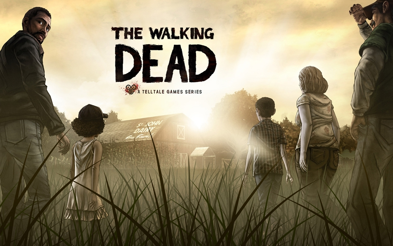 the walking dead game images twd game hd wallpaper and background