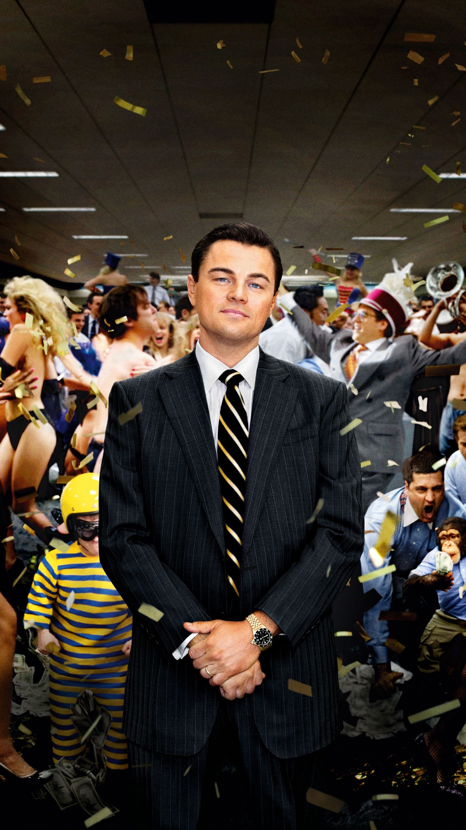 the wolf of wall street (2013) phone wallpaper em 2019 | posters