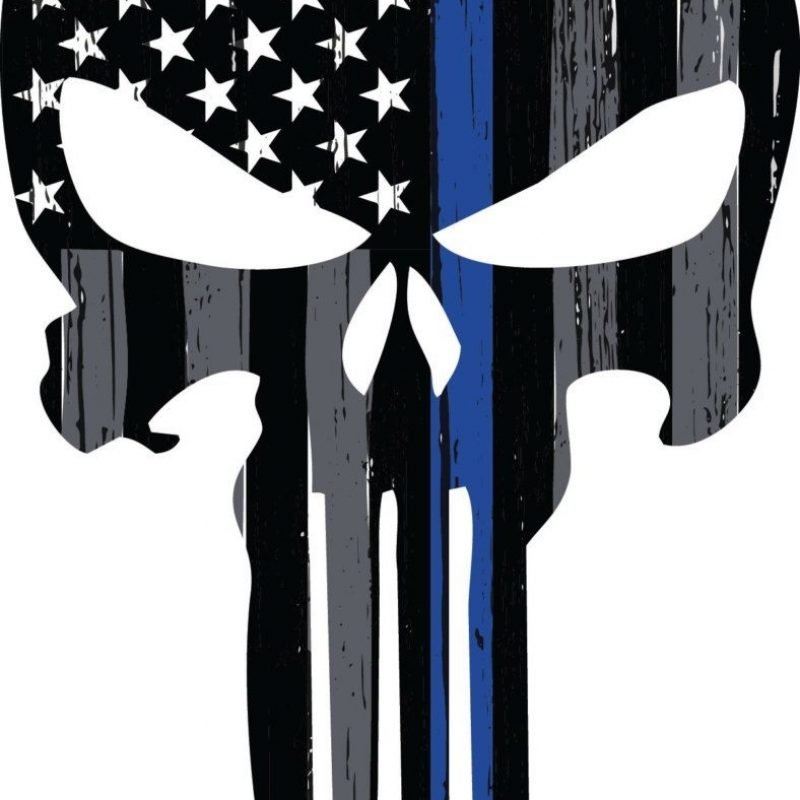 10 Latest Thin Blue Line Punisher Wallpaper FULL HD 1080p For PC Desktop 2018 free download thin blue line punisher skull decal vehicle decal law enforcement 800x800