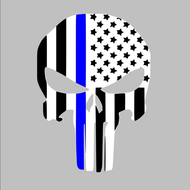 10 Latest Thin Blue Line Punisher Wallpaper FULL HD 1080p For PC Desktop 2018 free download thin blue line svg cricut pinterest cricut silhouettes and 800x800