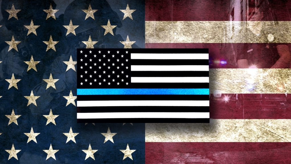 10 Latest Thin Blue Line Desktop Wallpaper FULL HD 1920×1080 For PC Background 2020 free download thin blue line wallpaper 1 1024x576