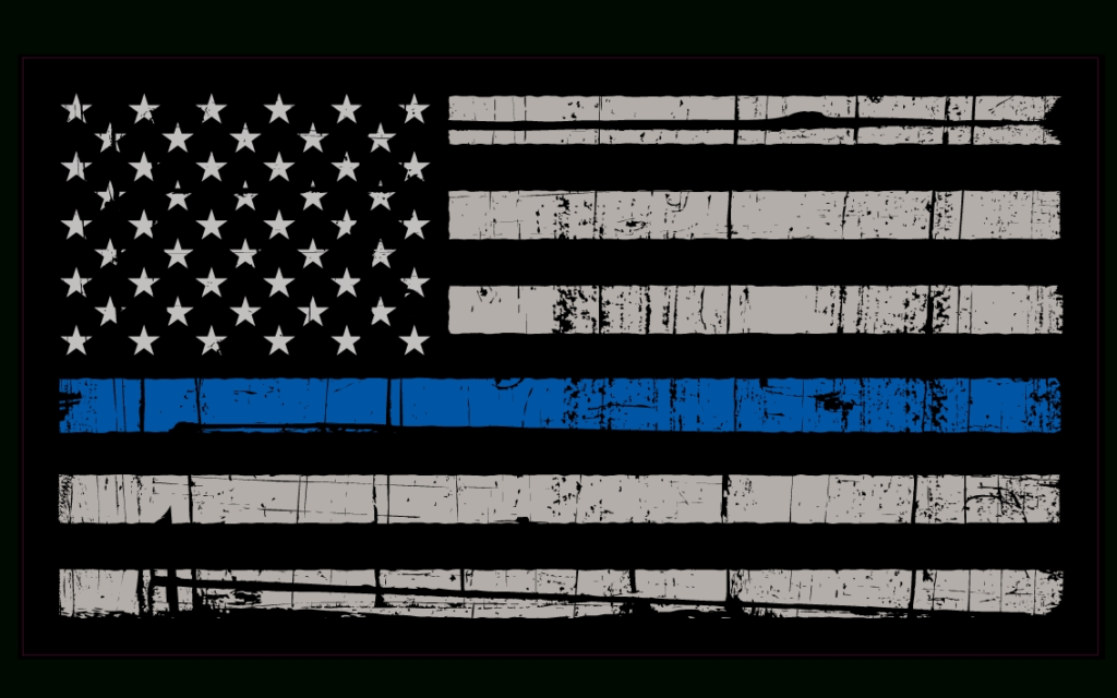 10 Best Thin Blue Line Flag Desktop Wallpaper FULL HD 1080p For PC Desktop 2020 free download thin blue line wallpapers group 42 1 1024x640