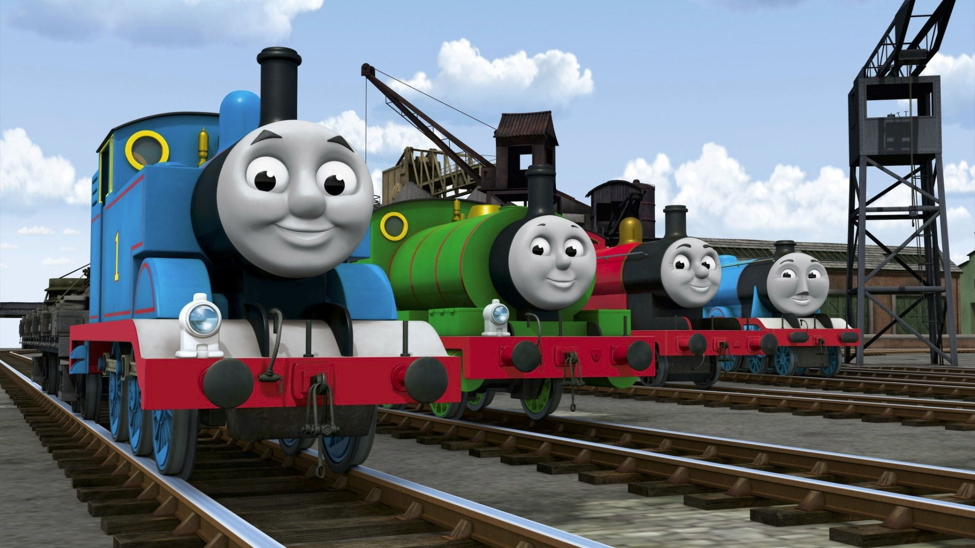 thomas and friends wallpapers group (49+)