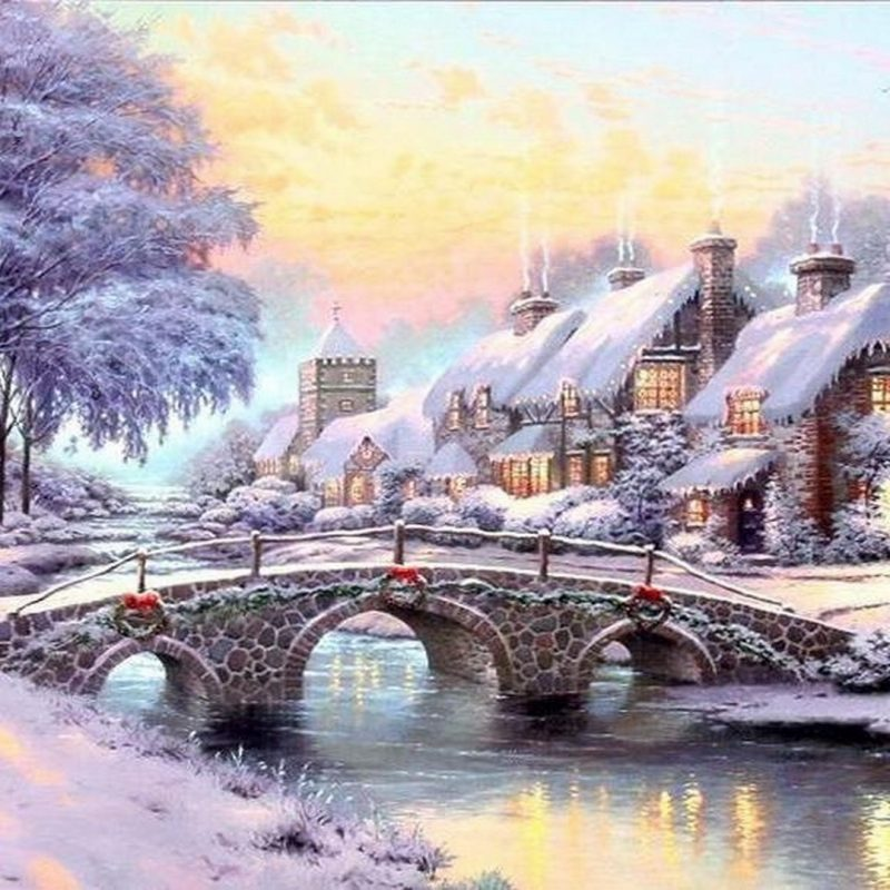 10 Most Popular Christmas Thomas Kinkade Wallpaper FULL HD 1920×1080 For PC Background 2018 free download thomas kinkade christmas village thomas kinkade wallpaper 2 800x800