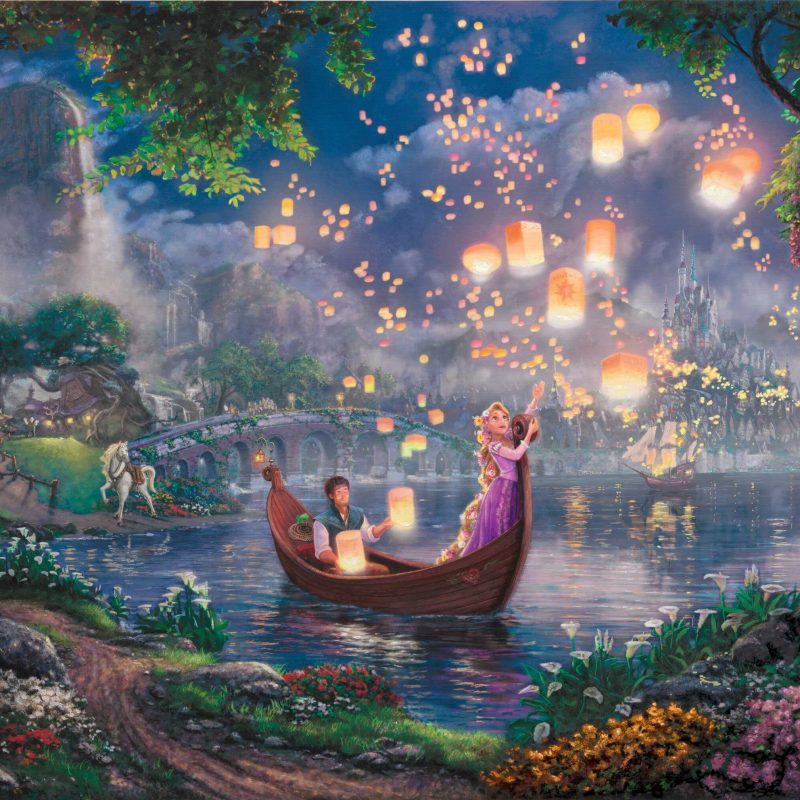 10 Latest Thomas Kinkade Disney Dreams Collection Wallpaper Full Hd