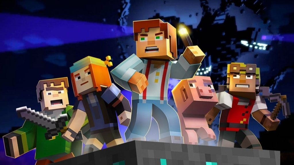 10 Best Minecraft Story Mode Wallpaper FULL HD 1080p For PC Desktop 2021 free download three new additions coming to minecraft story mode hrk newsroom 1024x576