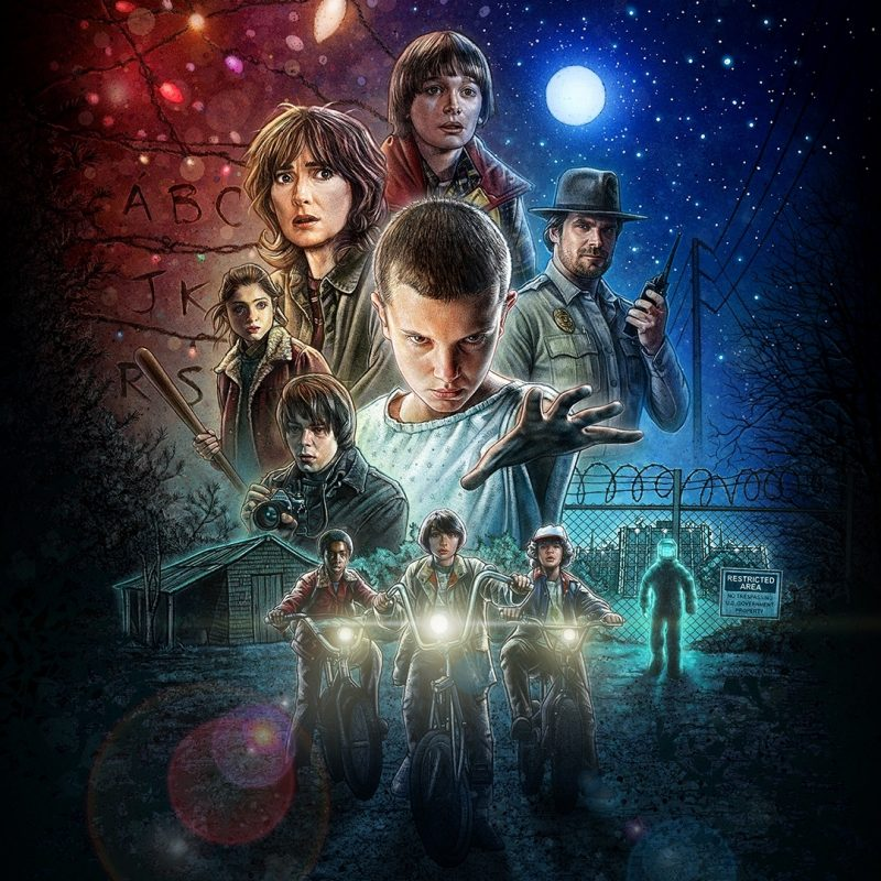 10 Best Stranger Things Wallpaper 1920X1080 FULL HD 1080p For PC Desktop 2020 free download threw together a 1920x1080 wallpaper strangerthings 800x800