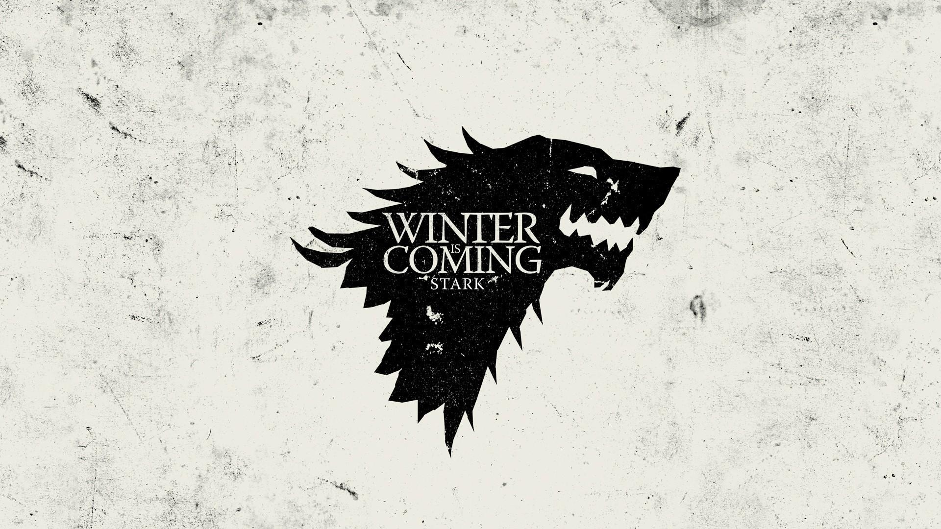 thrones house stark winter is coming sigil wallpaper | (53927)