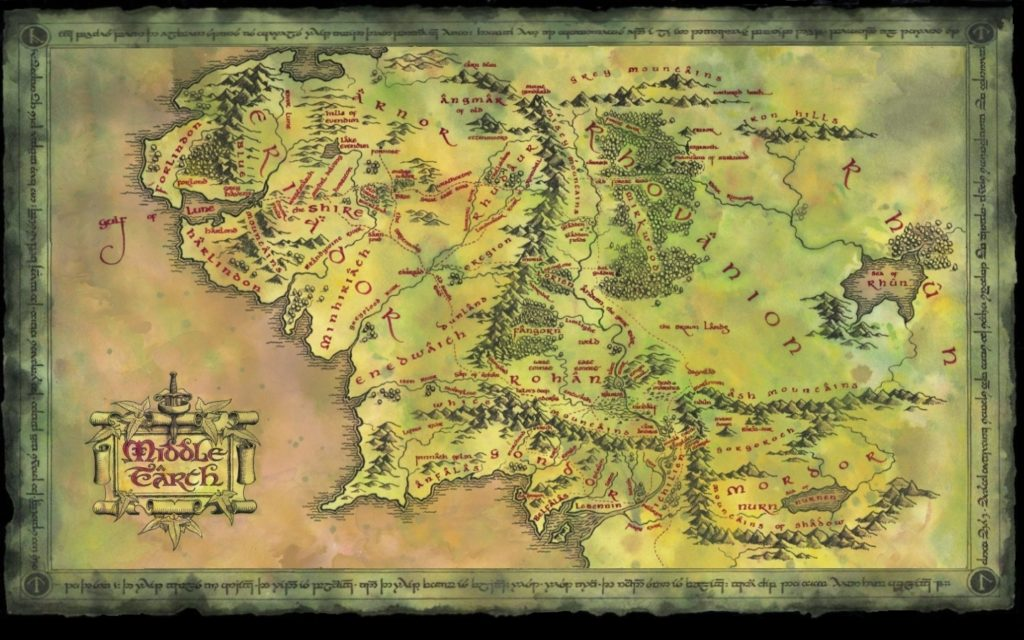 10 Latest Lord Of The Rings Map Background FULL HD 1080p For PC Desktop 2018 free download tolkiens middle earth wallpaper and background image 1440x900 1024x640