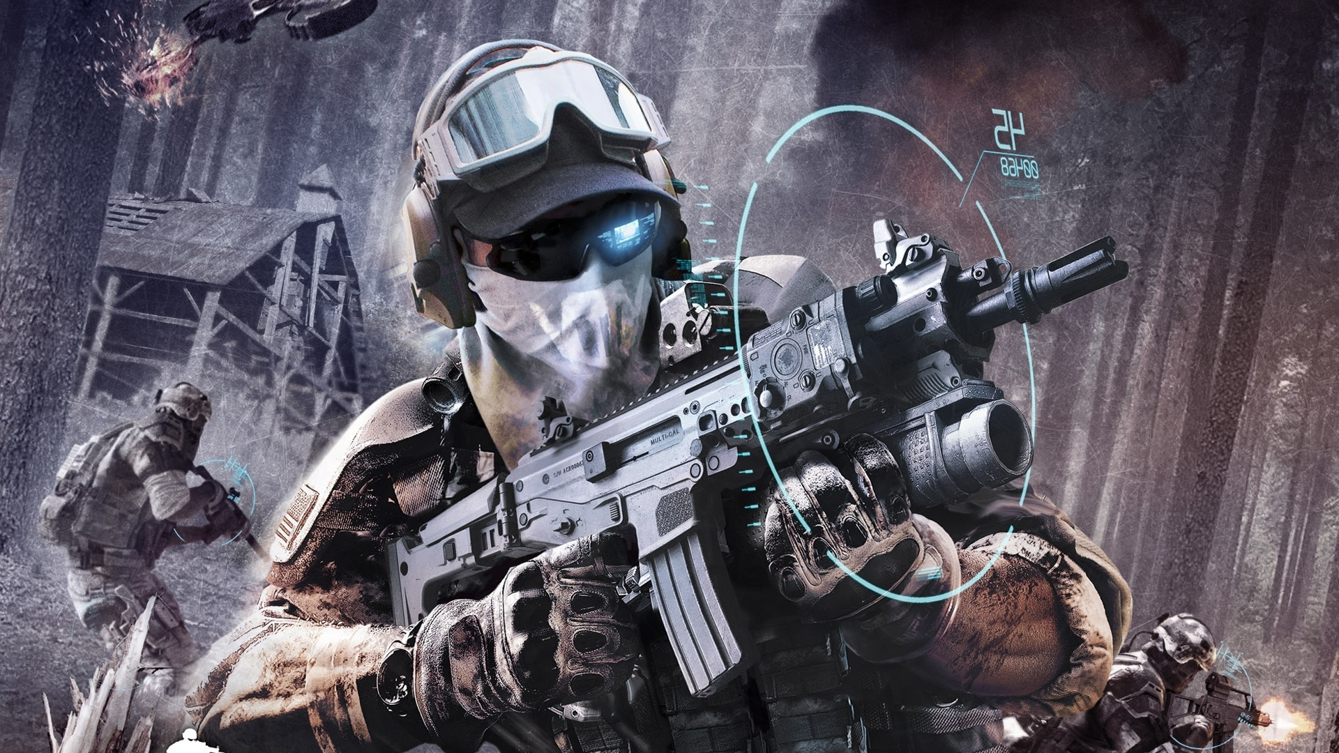 tom clancy's ghost recon: future soldier full hd fond d'écran and