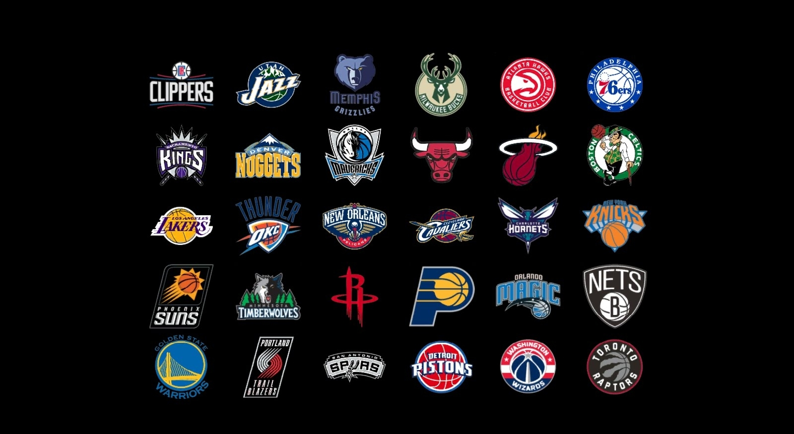 10 New Nba All Team Logos FULL HD 1920x1080 For PC Background 2018 Free DOWNLOAD