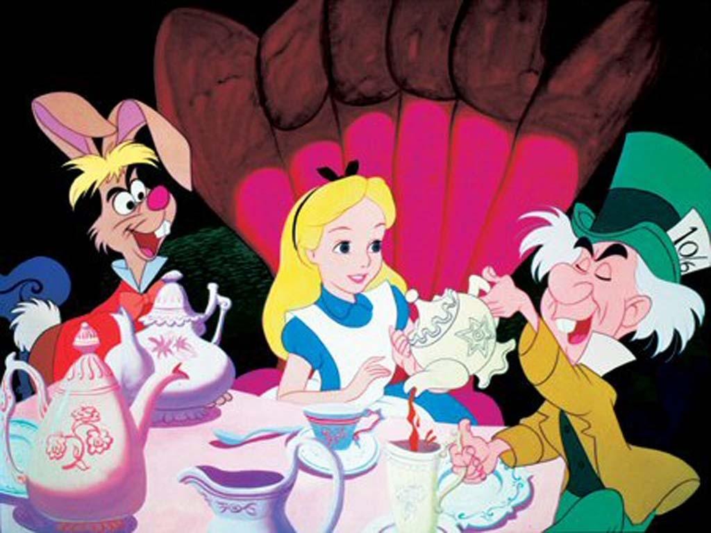 top cartoon wallpapers: alice in wonderland cartoons