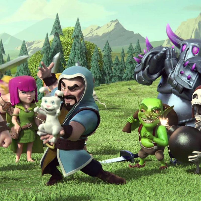 10 Latest Clash Of Clans Photo FULL HD 1920×1080 For PC Desktop 2018 free download trailer officiel les pouvoirs magiques clash of clans tv 800x800