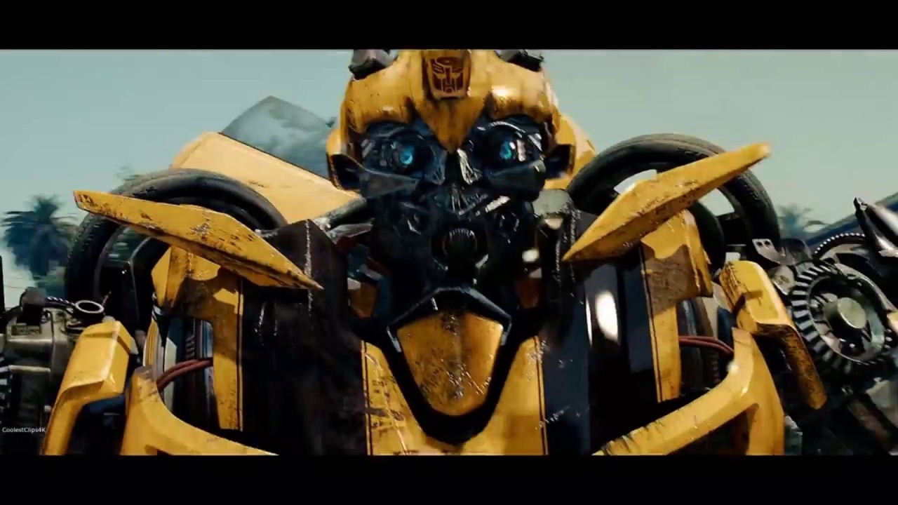 transformers: 2 revenge of the fallen - mini-cons vs bumblebee