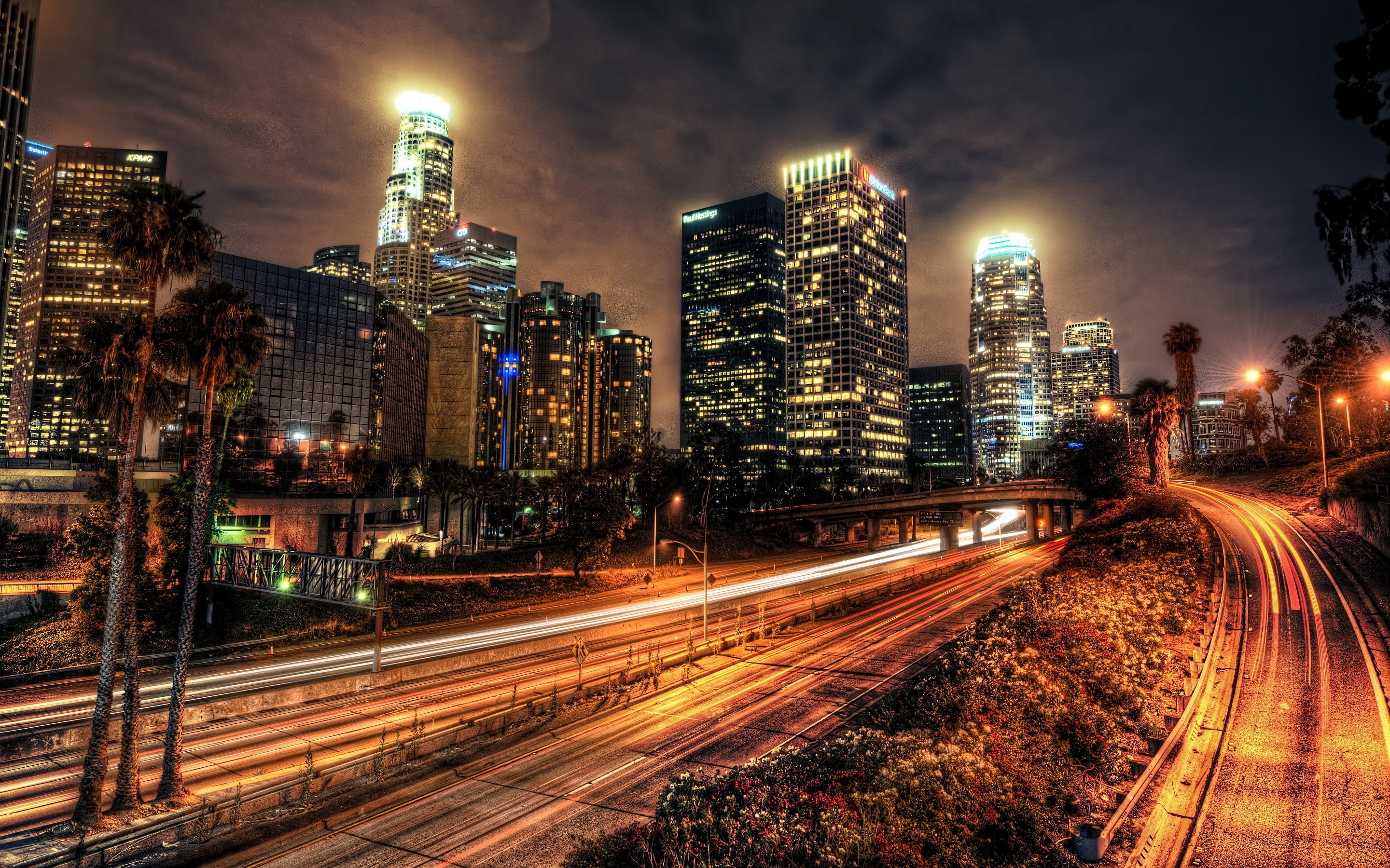 travel & world downtown los angeles wallpapers (desktop, phone