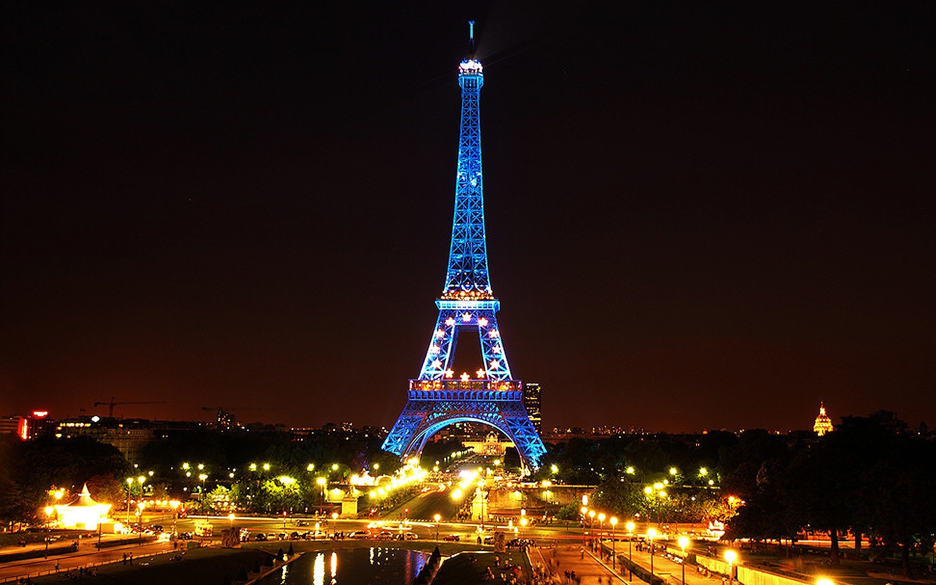 travel & world paris nights wallpapers (desktop, phone, tablet