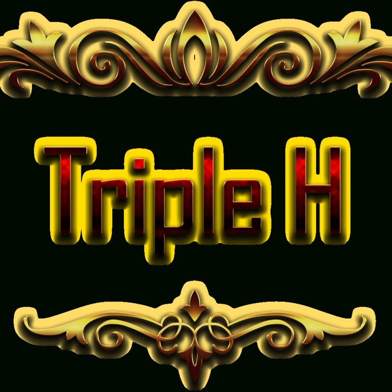 10 Most Popular Triple H Logo Png FULL HD 1920×1080 For PC Background 2018 free download triple h name png ready made logo effect images png names 800x800