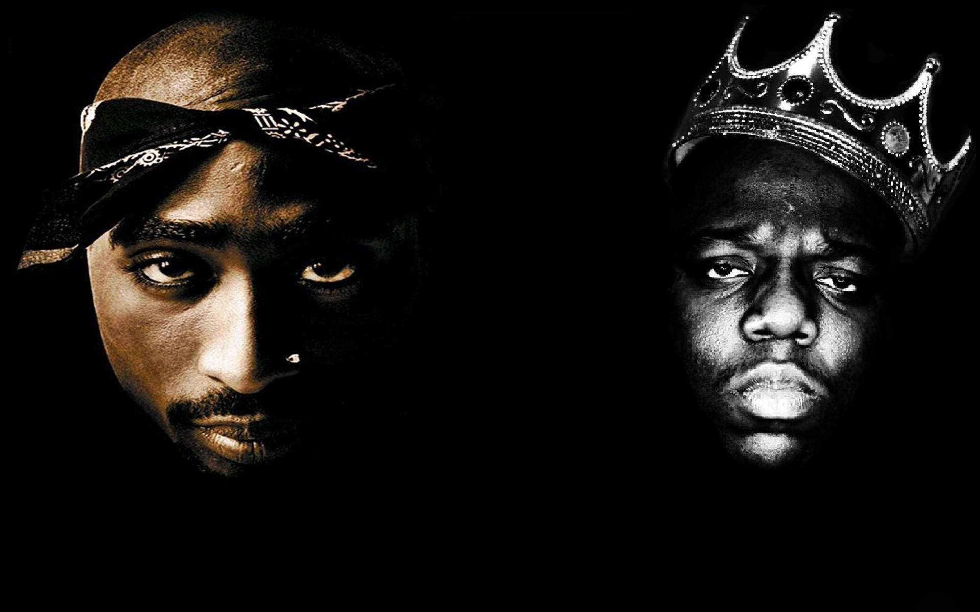 tupac and biggie wallpaper ·①