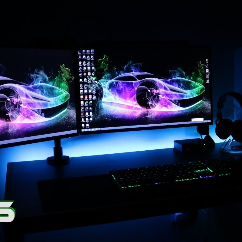 10 Latest Setting Up A Dual Monitor Wallpaper FULL HD 1920×1080 For PC Background 2018 free download ultimate clean gaming setup 2016 evolution dual monitors gaming 800x800