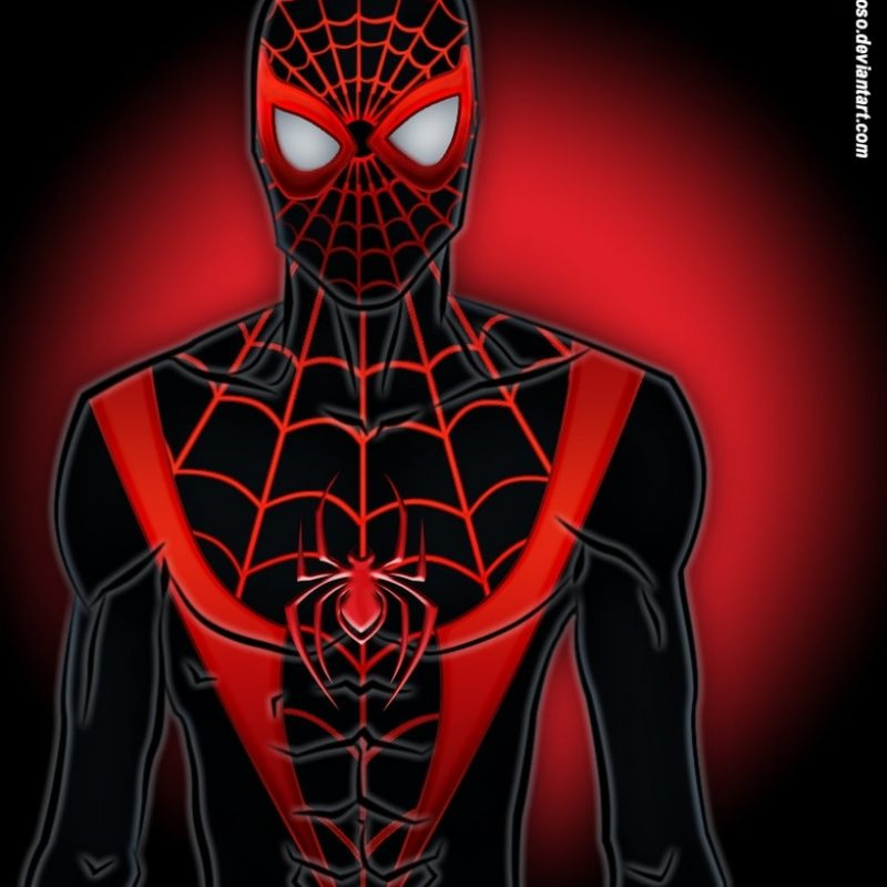 10 Top Miles Morales Spider Man Wallpaper FULL HD 1080p For PC Background 2018 free download ultimate spider man miles moralesxvrcardoso on deviantart 800x800