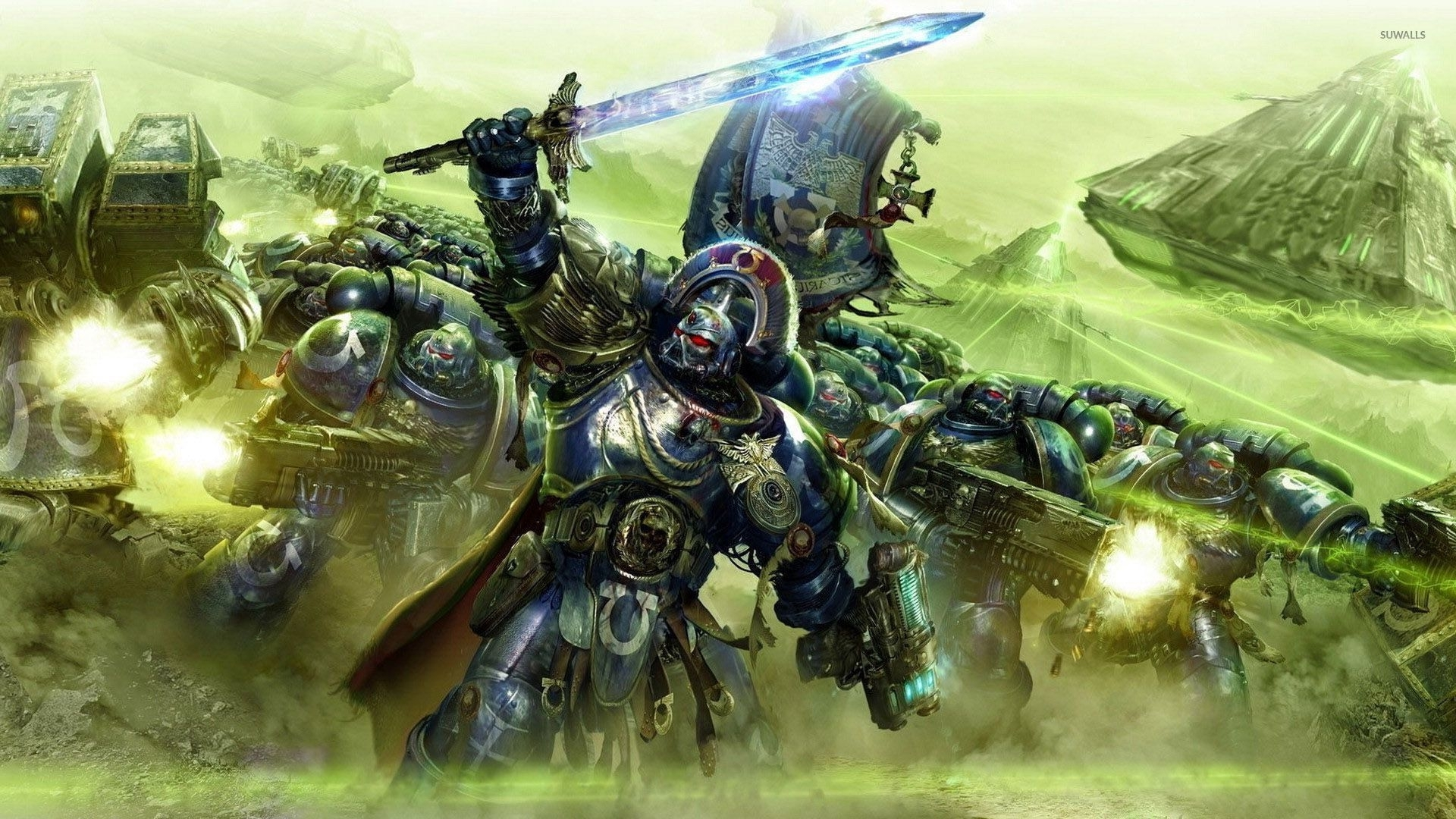 ultramarines - warhammer 40,000 wallpaper - game wallpapers - #29270