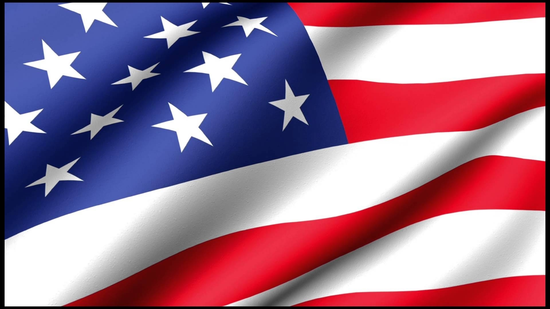 usa american flag waving loop 4k - youtube