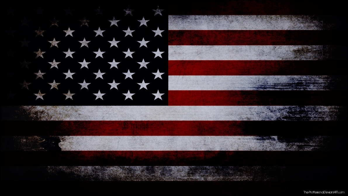 usa flag grunge wallpaperthe-proffesional on deviantart