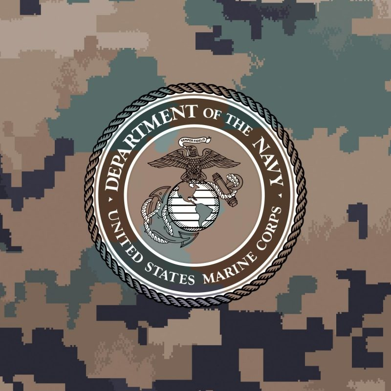 10 Latest Marines Logo Wallpaper Camo Full Hd 1080p For Pc