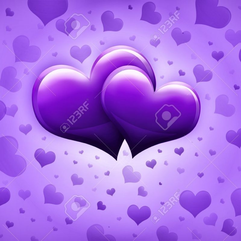 10 Latest Pictures Of Purple Hearts FULL HD 1920×1080 For PC Desktop 2018 free download valentines day card with two big purple hearts and many smaller 800x800