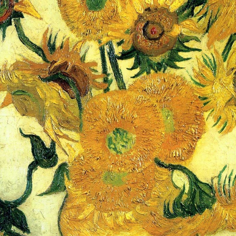 10 Best Van Gogh Sunflowers Wallpaper FULL HD 1080p For PC Background 2018 free download van gogh desktop wallpapers wallpaper cave 1 800x800