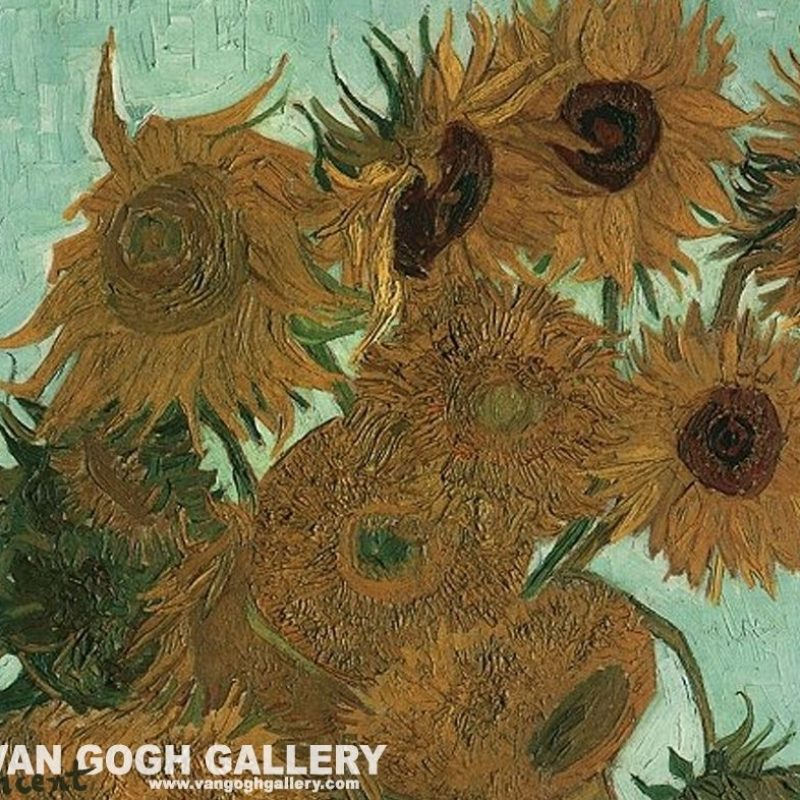 10 Best Van Gogh Sunflowers Wallpaper FULL HD 1080p For PC Background 2018 free download van gogh sunflowers wallpaper sunflowers desktop wallpaper van 1 800x800