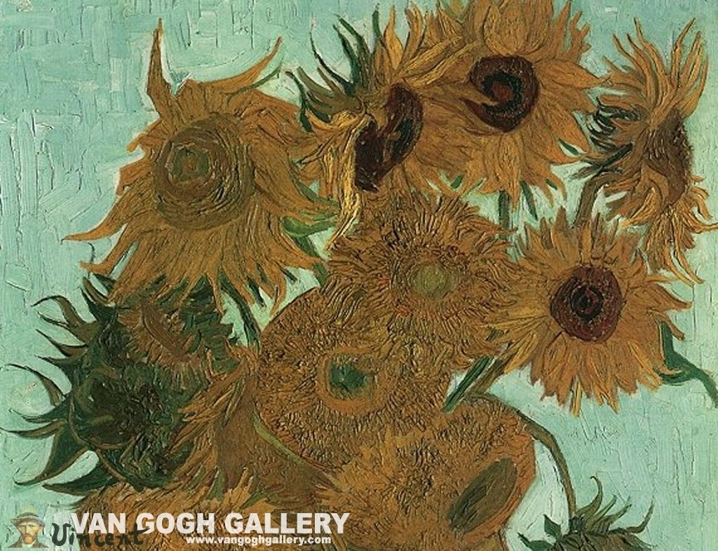 van gogh sunflowers wallpaper, sunflowers desktop wallpaper | van