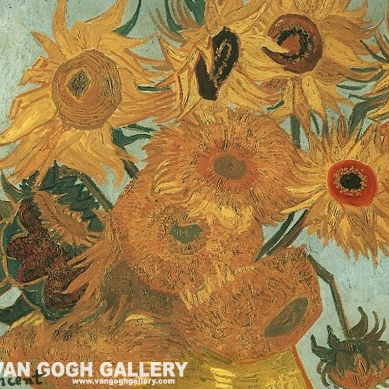 10 Best Van Gogh Sunflowers Wallpaper FULL HD 1080p For PC Background 2018 free download van gogh sunflowers wallpaper sunflowers desktop wallpaper van 2 800x800