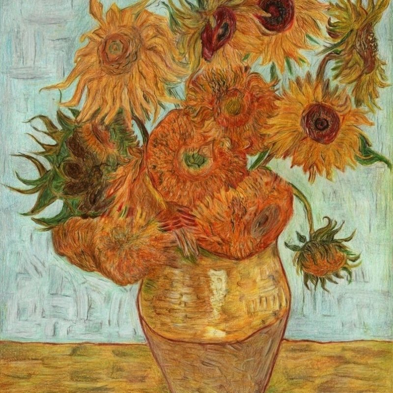 10 Best Van Gogh Sunflowers Wallpaper FULL HD 1080p For PC Background 2018 free download van goghs sunflowersannasulikowska on deviantart 800x800