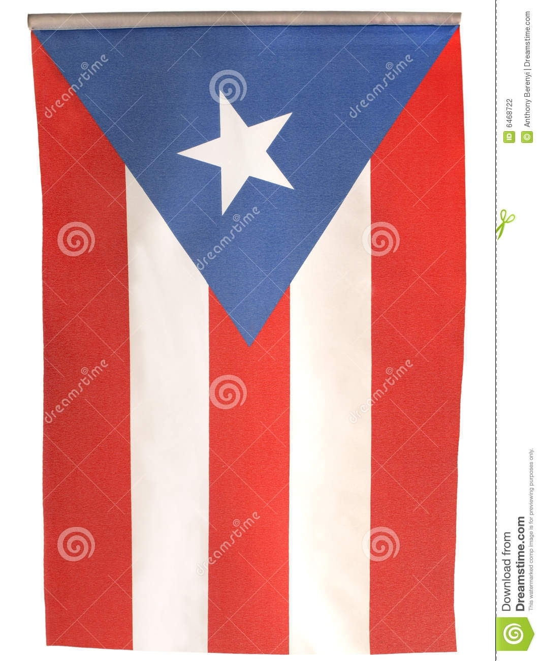 vertical flag puerto rico flag stock photo - image of nation, rico