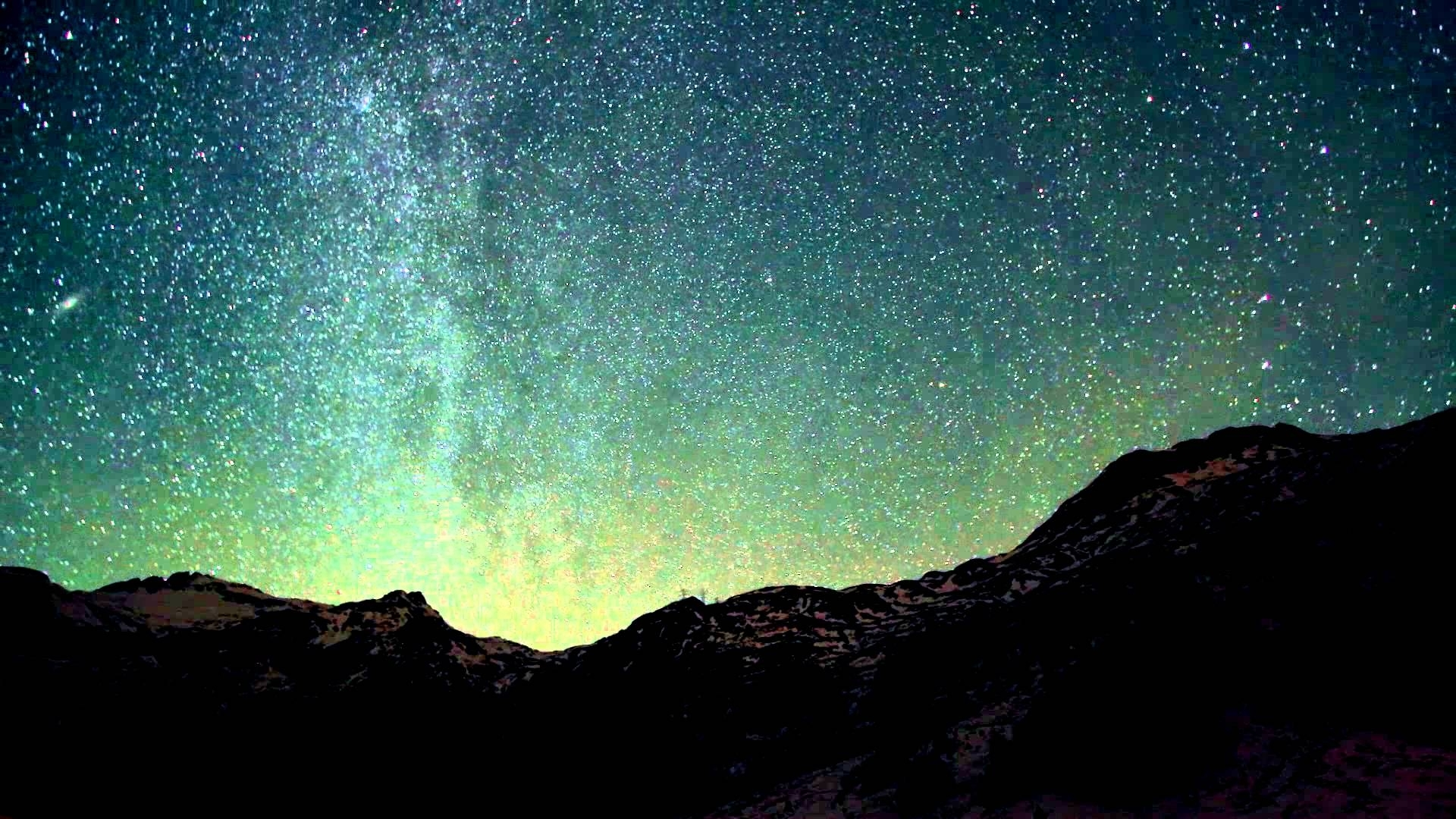 video background hd - style proshow -moon - midnight - star - sky hd